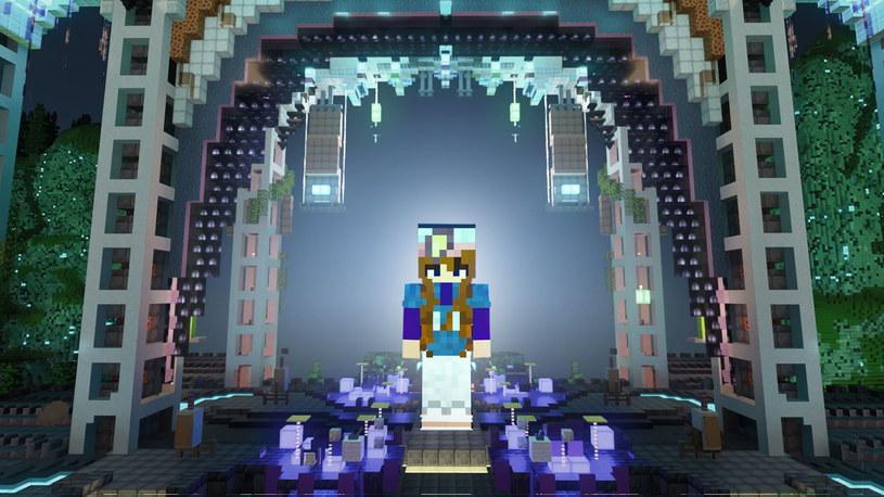 Minecraft live - scena /materiały prasowe