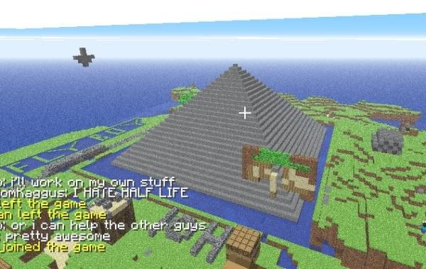 Minecraft: Masz ochotę na zbudowanie piramid od podstaw? Nie ma problemu... /Informacja prasowa