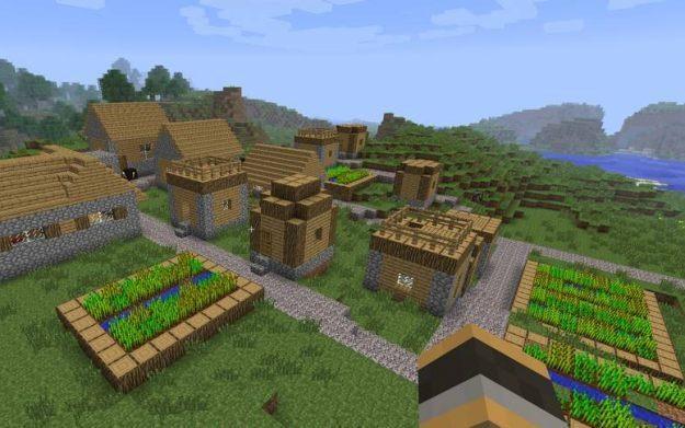 Minecraft - motyw graficzny /Informacja prasowa
