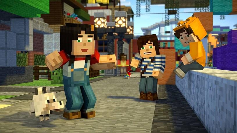 Minecraft: Story Mode /INTERIA.PL