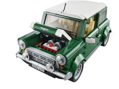 Mini Cooper z klocków Lego