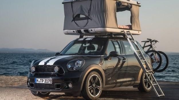 Wakacyjne Mini Countryman All4 Camp Mobilna Interia W Interiapl