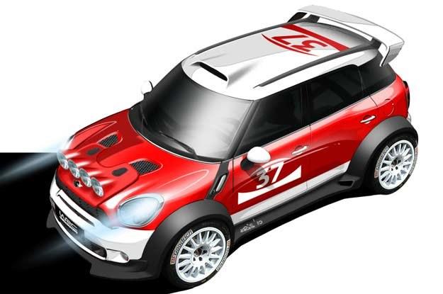Mini countryman WRC /