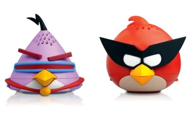 Mini głośniki Angry Birds od Gear4 /
