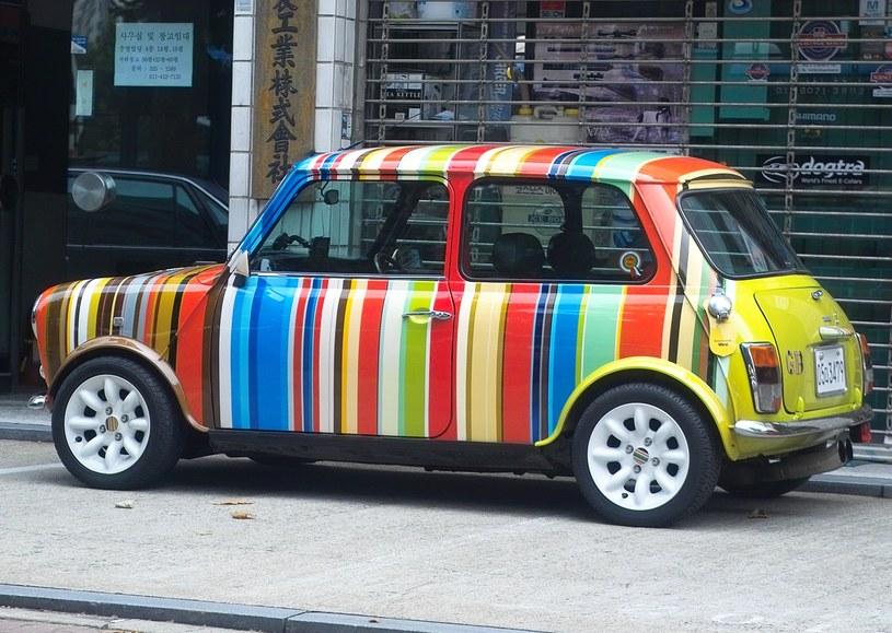 Mini Morris zaprojektowany przez Paula Smitha /materiały prasowe