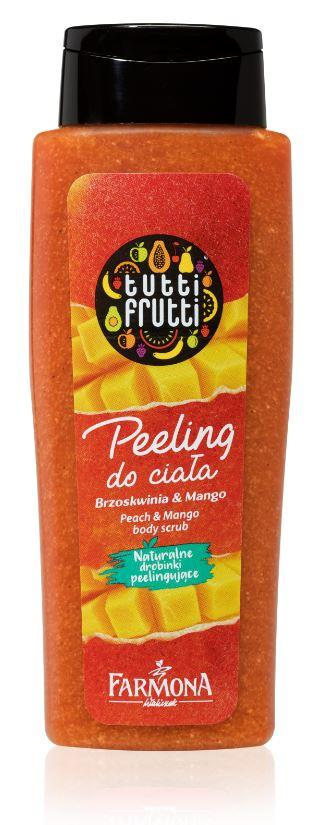 Mini peeling do ciała Brzoskwinia&Mango /INTERIA.PL/materiały prasowe