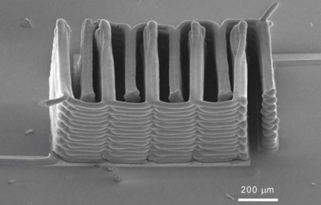 Miniaturowy akumulator   Fot. Harvard /materiały prasowe