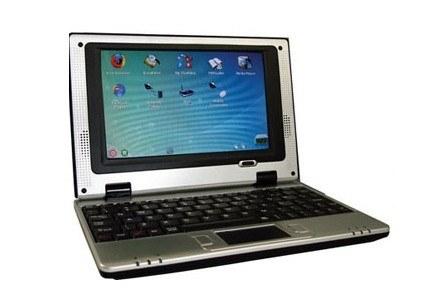miniBook - niewielki laptop za małe pieniądze (Fot. RegHardware.co.uk). /CafePC.pl