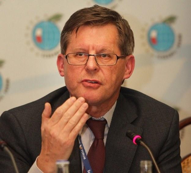 Minister Adam Giersz /AFP