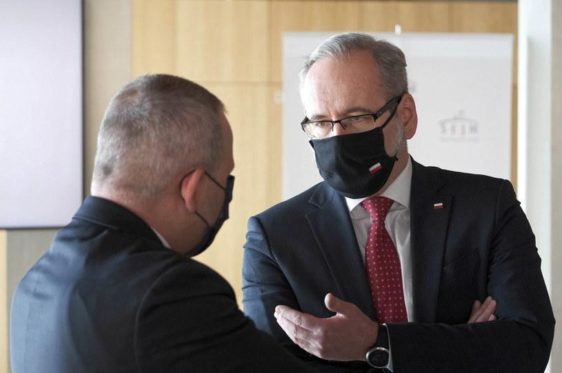 Minister Adam Niedzielski /Mateusz Marek /PAP