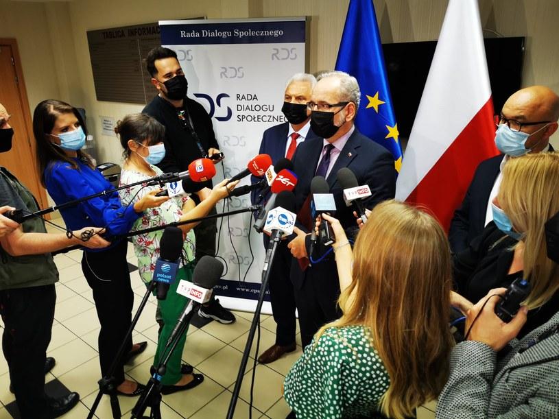 Minister Adam Niedzielski /Twitter/Ministerstwo Zdrowia /