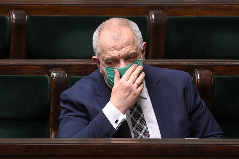 Minister aktywów państwowych Jacek Sasin /Jacek Dominski/ /Reporter
