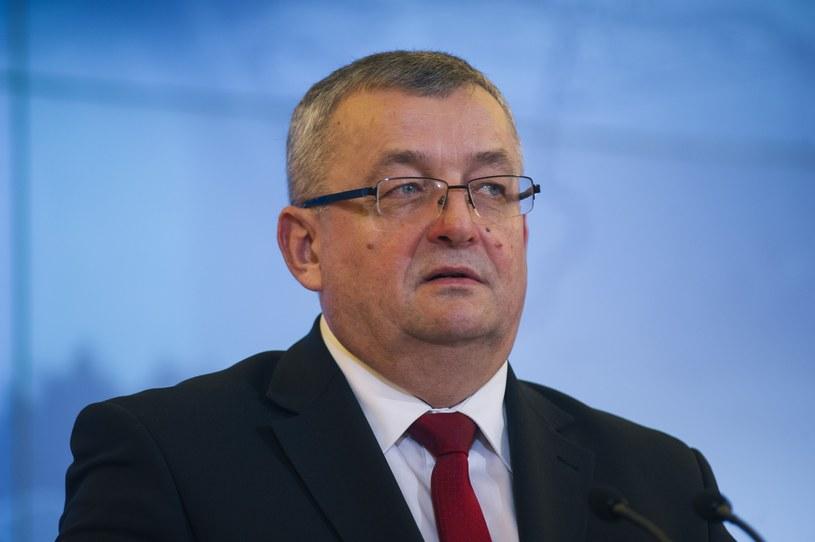 Minister Andrzej Adamczyk /Dariusz Gnap /Reporter