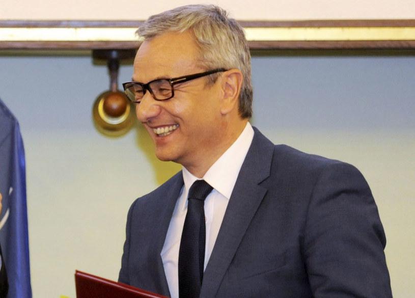 Minister Andrzej Biernat /Bartłomiej Zborowski /PAP