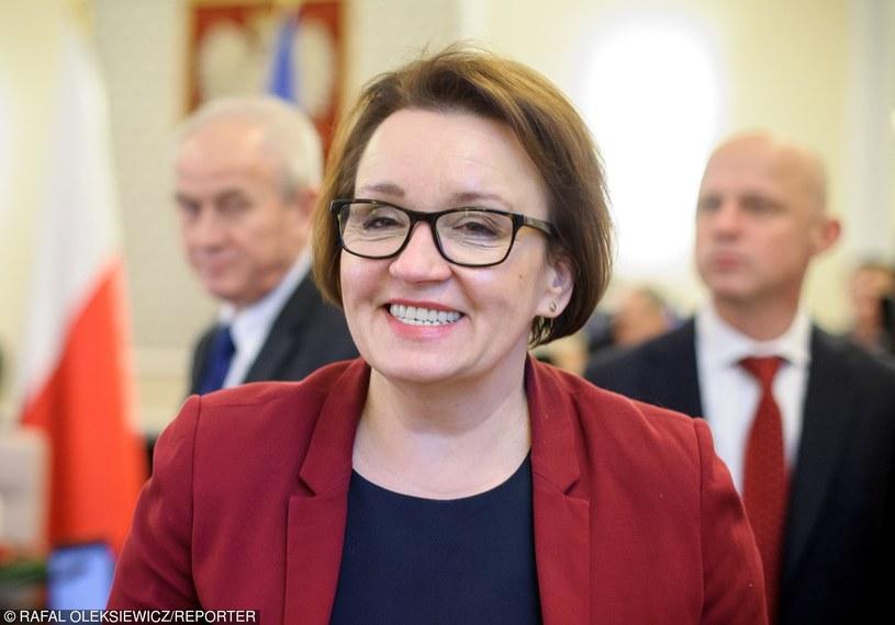 Minister Anna Zalewska /Rafal Oleksiewicz/REPORTER /East News