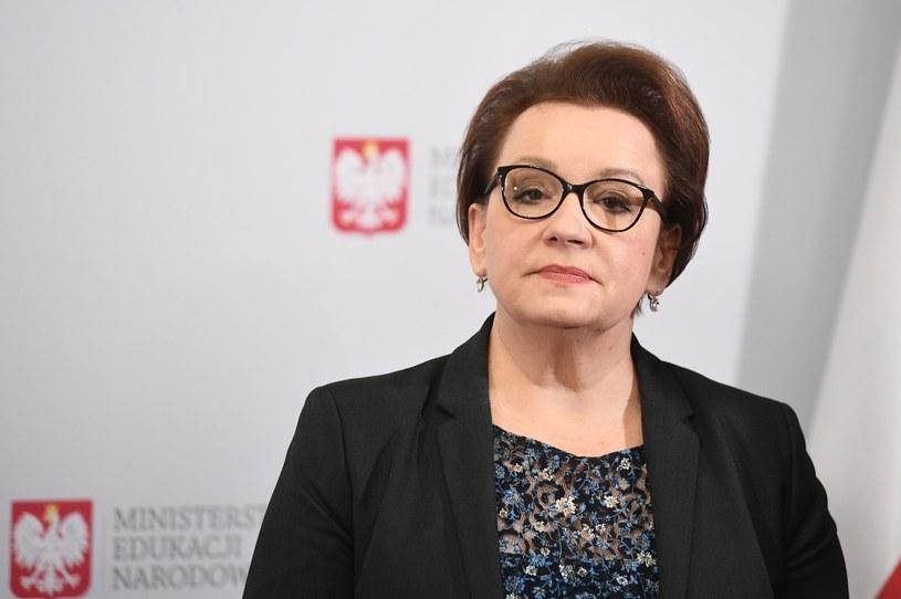 Minister Anna Zalewska /Rafal Oleksiewicz /Reporter