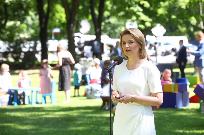 Minister Barbara Socha /Rafał Guz /PAP