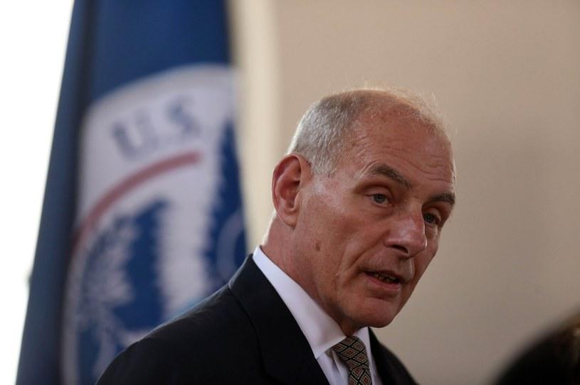 Minister bezpieczeństwa narodowego USA John Kelly /PAP/EPA