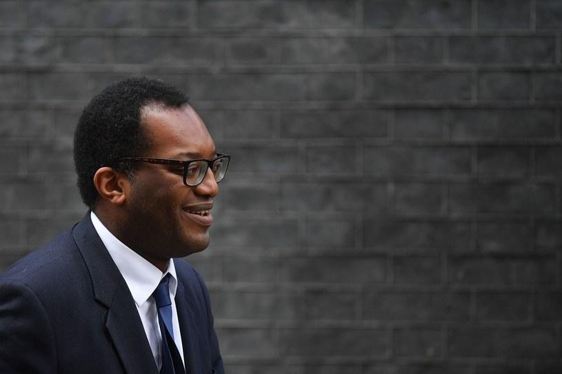 Minister biznesu W. Brytanii Kwasi Kwarteng /AFP