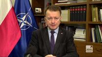 Minister Błaszczak o sprzęcie dla wojska: Nadrabiamy zapóźnienia