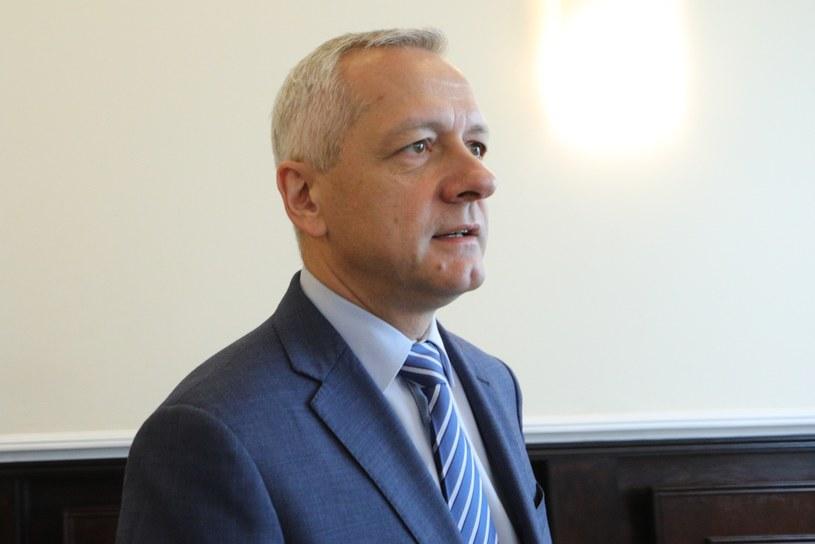Minister cyfryzacji Marek Zagórski /Tomasz Jastrzębowski /Reporter