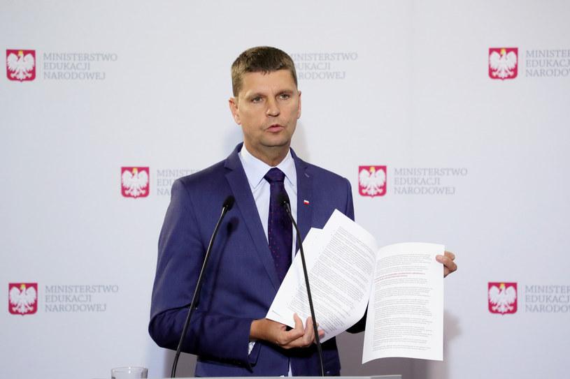 Minister Dariusz Piontkowski /Piotr Molecki /East News
