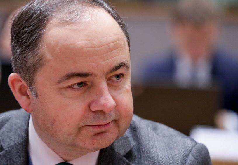 Minister ds. europejskich Konrad Szymański /Konrad Szymański /PAP/EPA