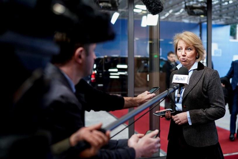 Minister ds. europejskich sprawującej prezydencję Chorwacji Andreja Metelko Zgombić /KENZO TRIBOUILLARD /AFP