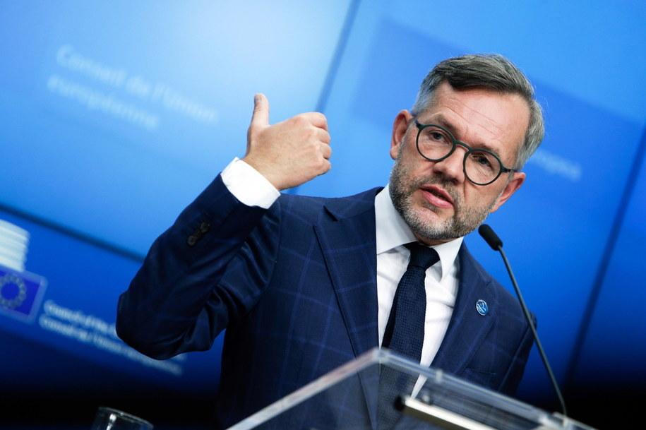 Minister ds. europejskich sprawujących w tym półroczu prezydencję Niemiec Michael Roth /ARIS OIKONOMOU/POOL /PAP/EPA