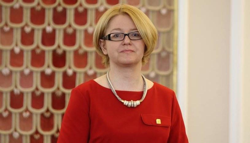 Minister ds. równości Agnieszka Kozłowska-Rajewicz /Stanisław Kowalczuk /East News