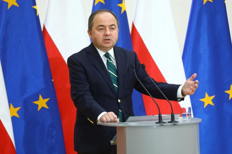 Minister ds. Unii Europejskiej Konrad Szymański /PAP