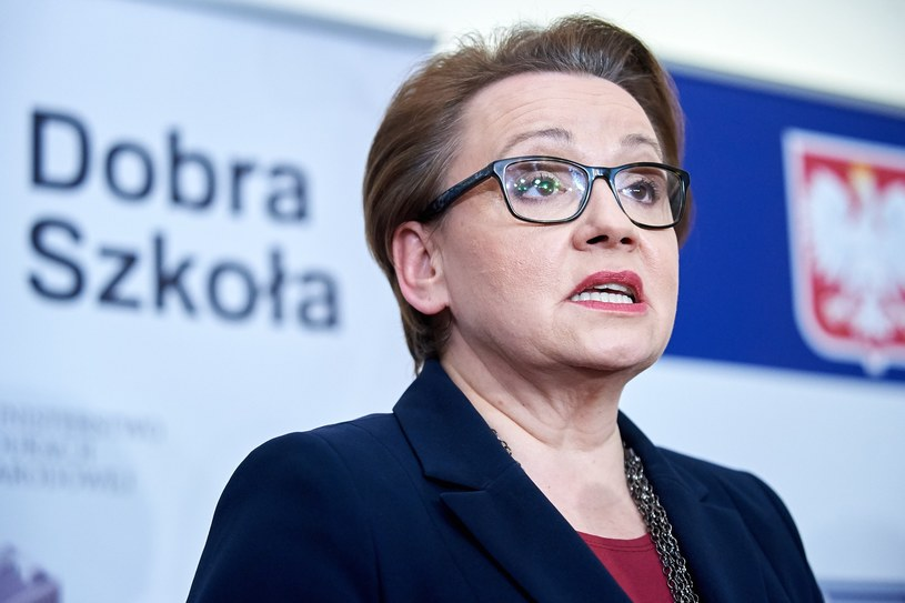 Minister eduakcji Anna Zalewska /Łukasz Szeląg /Reporter