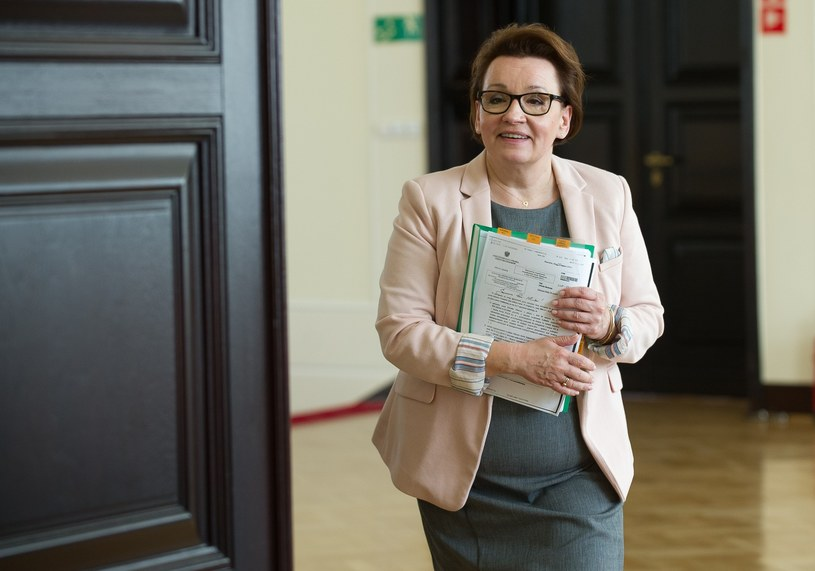 Minister edukacji Anna Zalewska /Bartosz Krupa /East News