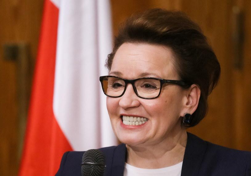 Minister edukacji Anna Zalewska /Paweł Supernak /PAP