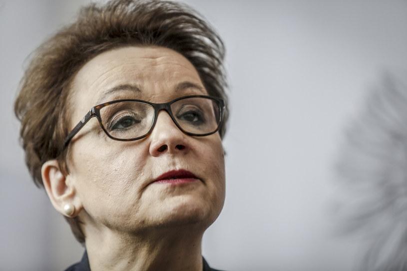 Minister edukacji Anna Zalewska /KAROLINA MISZTAL/REPORTER /East News