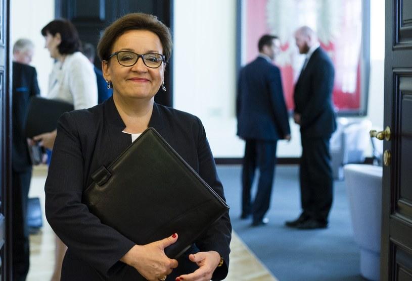 Minister Edukacji Anna Zalewska /Krystian Dobuszyński /Reporter