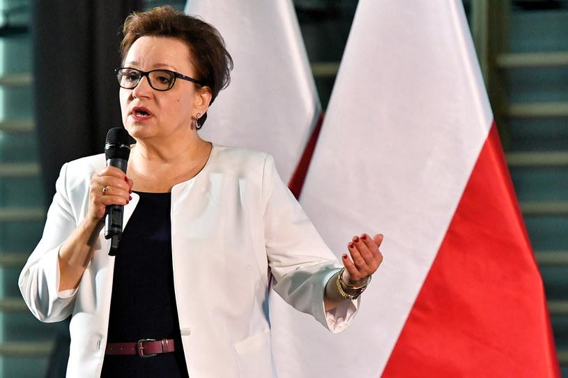 Minister edukacji Anna Zalewska / Maciej Kulczyński    /PAP