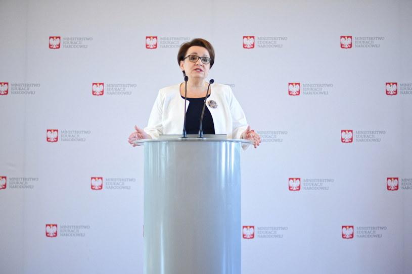 Minister edukacji Anna Zalewska /Jacek Turczyk /PAP