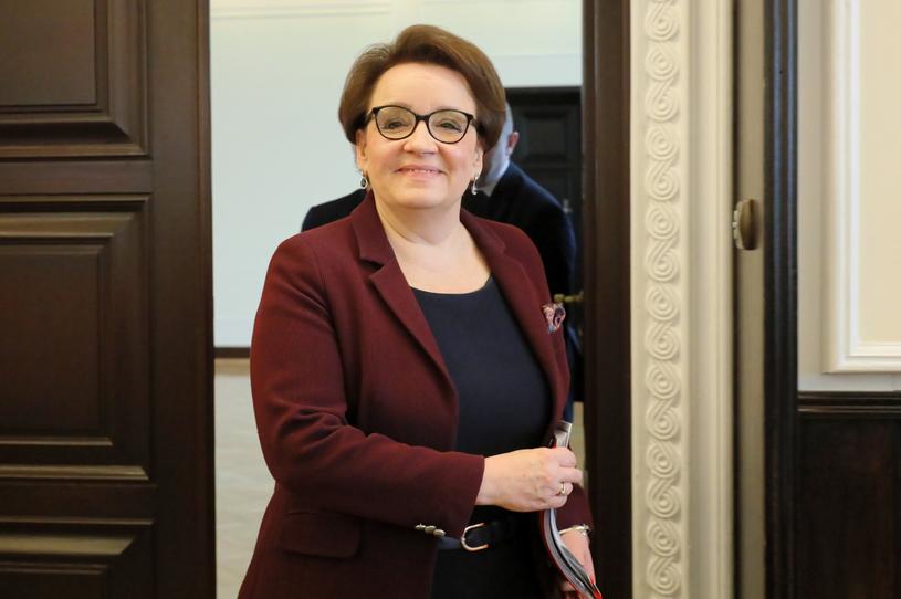 Minister edukacji Anna Zalewska /Paweł Suparnak /PAP