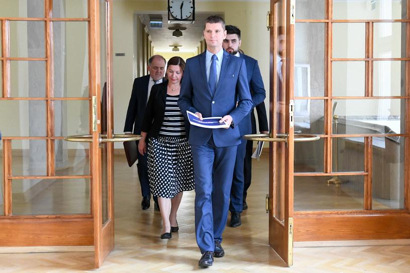 Minister edukacji Dariusz Piontkowski /Jacek Dominski/REPORTER /Reporter
