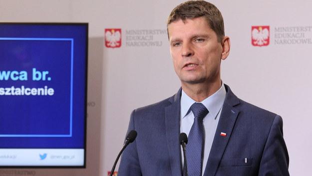 Minister edukacji Dariusz Piontkowski /Paweł Supernak /PAP
