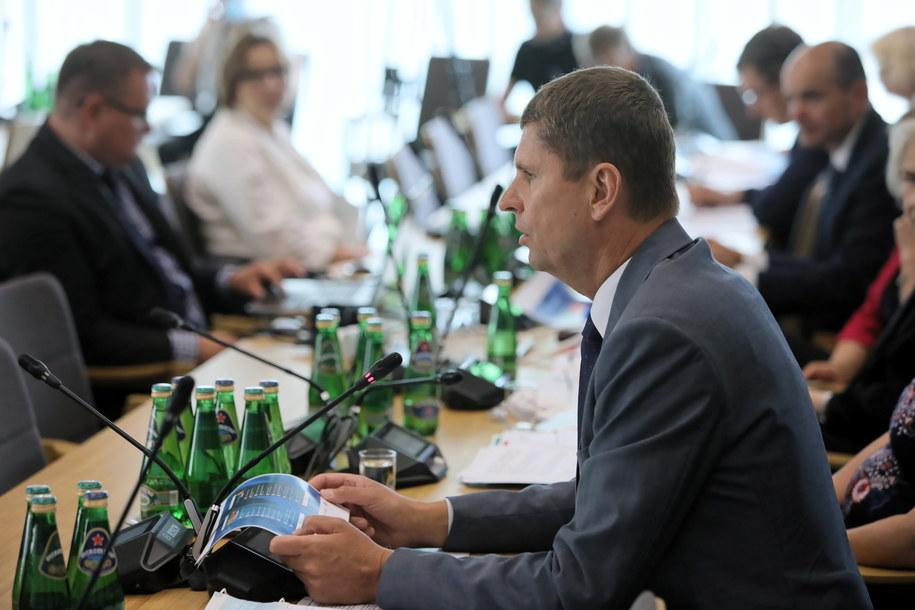 Minister edukacji Dariusz Piontkowski / Leszek Szymański    /PAP