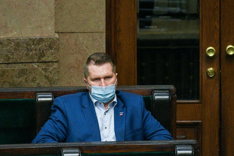 Minister edukacji i nauki Przemysław Czarnek / Jacek Dominski /REPORTER /East News