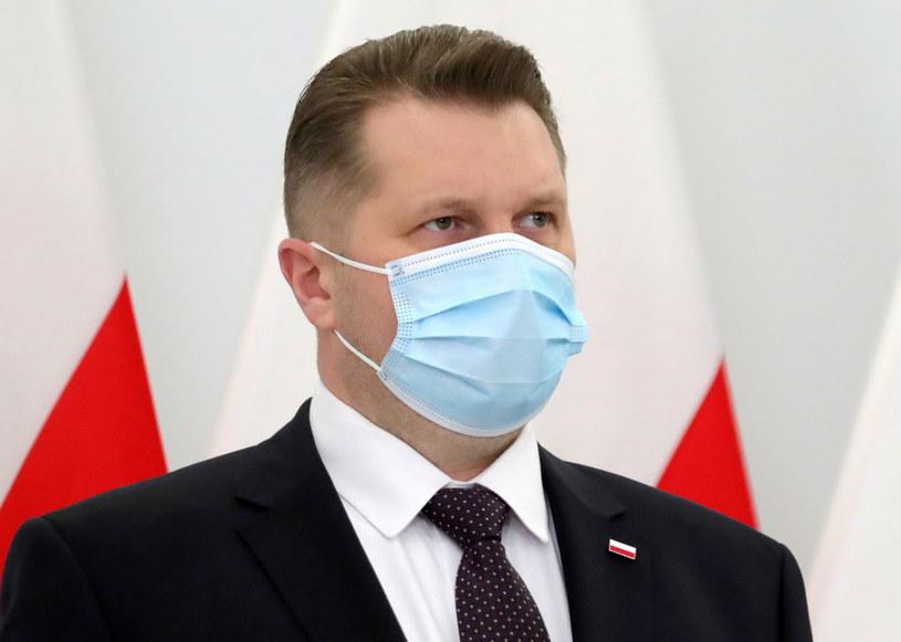 Minister edukacji i nauki Przemysław Czarnek /Piotr Molecki/East News /East News