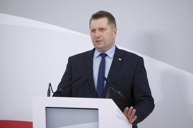 Minister edukacji i nauki Przemysław Czarnek /Paweł Supernak /PAP