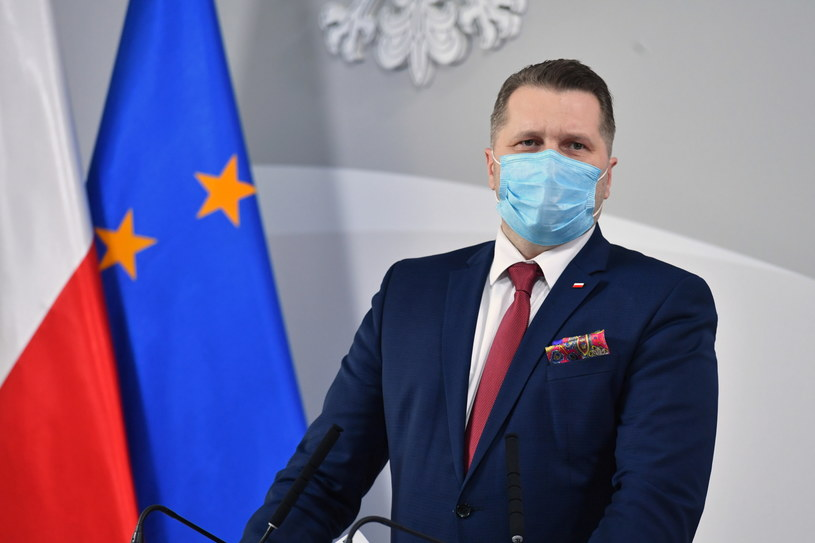 Minister edukacji i nauki Przemysław Czarnek /Piotr Nowak /PAP