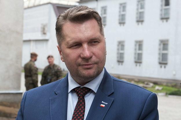 Minister edukacji i nauki Przemysław Czarnek /Mateusz Marek /PAP