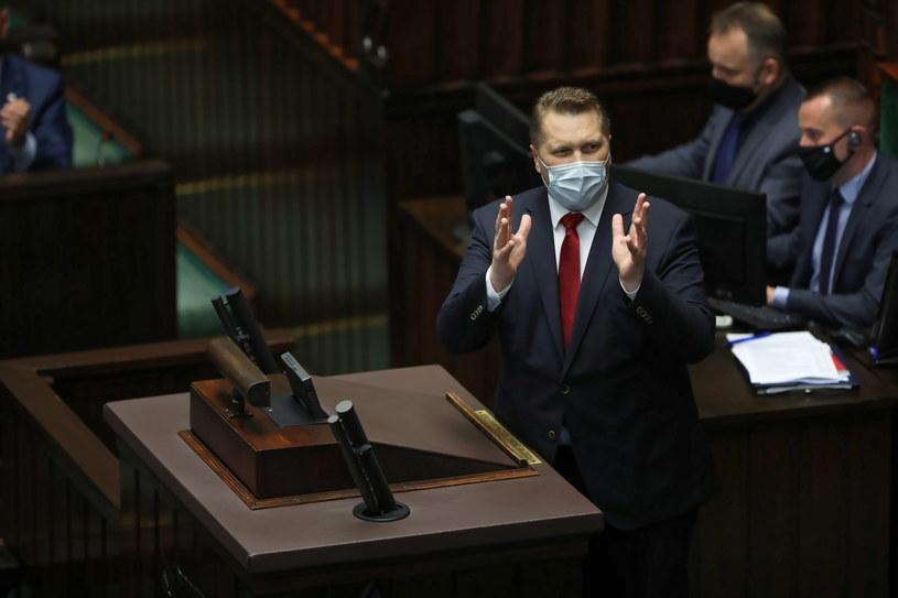 Minister edukacji i nauki Przemysław Czarnek /Wojciech Olkuśnik /PAP