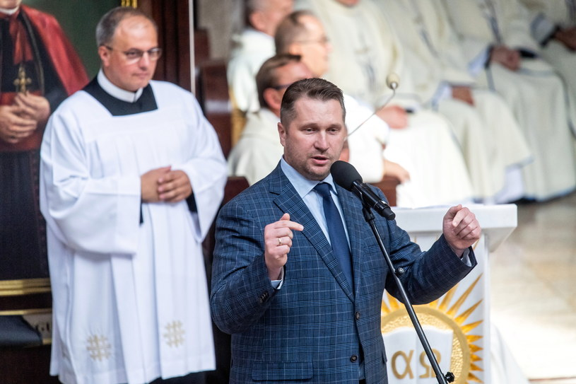 Minister edukacji i nauki Przemysław Czarnek /Tytus Żmijewski /PAP