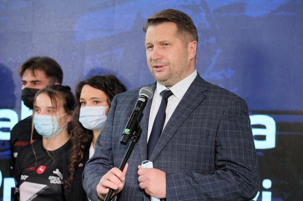 Minister edukacji i nauki Przemysław Czarnek / Paweł Supernak   /PAP